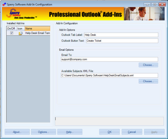 microsoft access help desk template - microsoft outlook templates